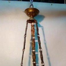Antigüedades: LAMPARA DE TECHO-. Lote 165658090