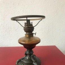 Antigüedades: GRAN QUINQUÉ DE CALAMINA - PRINCIPIO DEL S.XX.. Lote 165709602