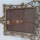 Antigüedades: BONITO MARCO DE BRONCE. Lote 165728118