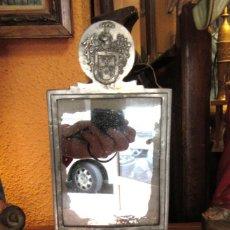 Antigüedades: ESPEJO DE TOCADOR ANTIGUO. Lote 165732006