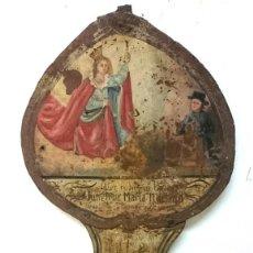 Antigüedades: ANTIGUA LÁPIDA CON MOTIVOS RELIGIOSOS, ALEMANA. SIGLO XVII. 95X35. RAREZA. Lote 165741742