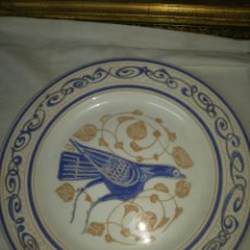 Antigüedades: PLATO LOZA NAZARÍ LA GENERAL. Lote 165779085