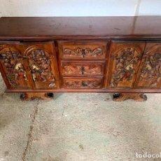 Antigüedades: APARADOR TALLADO. Lote 165789566
