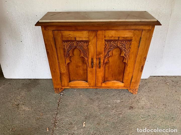 Antigüedades: APARADOR LIBRERO - Foto 2 - 182887662