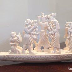 Antigüedades: FIGURA BARCA EGIPCIA. M.. Lote 165821384