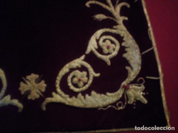 Antigüedades: Estandarte bordado en oro fino - Foto 4 - 153514368