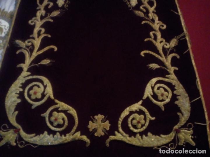 Antigüedades: Estandarte bordado en oro fino - Foto 5 - 153514368