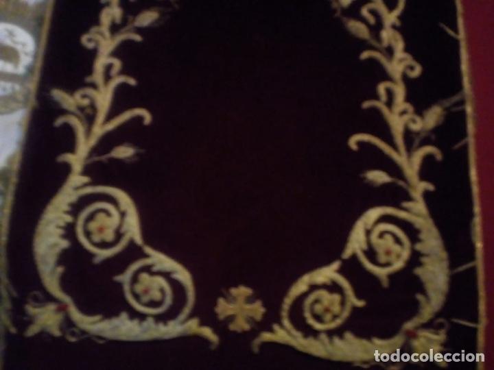 Antigüedades: Estandarte bordado en oro fino - Foto 3 - 153514368