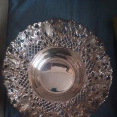Antigüedades: FRUTERO DE PLATA. Lote 165844040