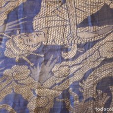 Antiquités: COLCHA ANTIGUA SEDINA CHINESCA.. Lote 165850110