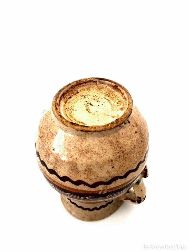Antigüedades: JARRA DE PUENTE DEL ARZOBISPO - SERIE DE CIRCULOS CONCÉNTRICOS - S. XIX - Foto 7 - 165855902