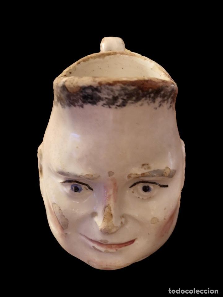 Antigüedades: Antigua jarra, sargadelos. ? preciosa. - Foto 2 - 165879378