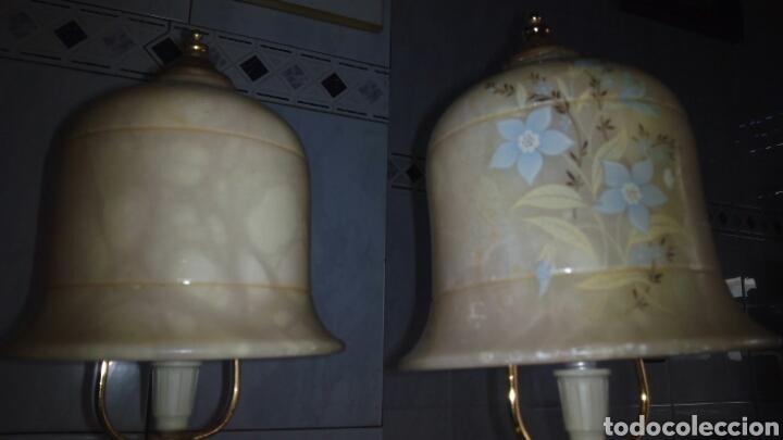 Antigüedades: (2)lamparas de Alabastro ,ver fotos - Foto 12 - 165882293