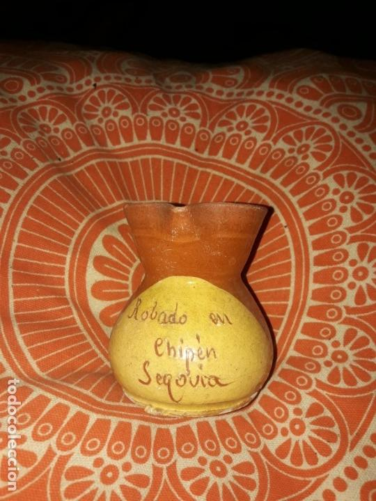 Antigüedades: Lote jarrita barro arcilla para vino. - Foto 4 - 165890946