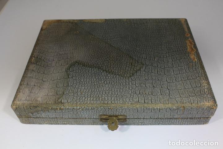 Antigüedades: juego de 6 cucharas antiguas en plata maciza de ley 925milesimas - Foto 6 - 176037434