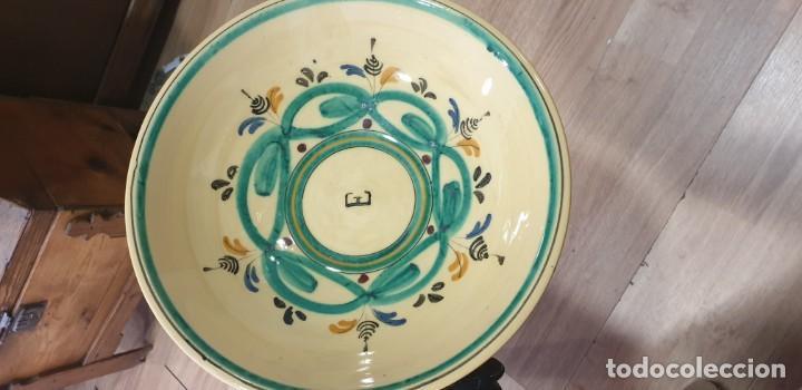 CUENCO CERAMICA PUENTE DEL ARZOBISPO SIGLO XX (Antigüedades - Porcelanas y Cerámicas - Puente del Arzobispo )