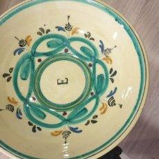 Antigüedades: CUENCO CERAMICA PUENTE DEL ARZOBISPO SIGLO XX. Lote 165927802