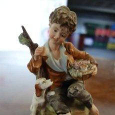 Antigüedades: FIGURA DE BISCUIT ALEMANA DE PRINCIPIOS DEL SIGLO XX. Lote 165946362