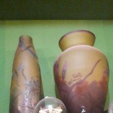 Antigüedades: GRANDES PIEZAS EMILO GALLE GRAN TAMAÑO 70 CTMOS. Lote 165960333