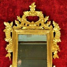 Antigüedades: CORNUCOPIA. MADERA TALLADA. DORADO ORIGIINAL A LA HOJA DE ORO. ESPAÑA. XVIII-XIX. Lote 165960922