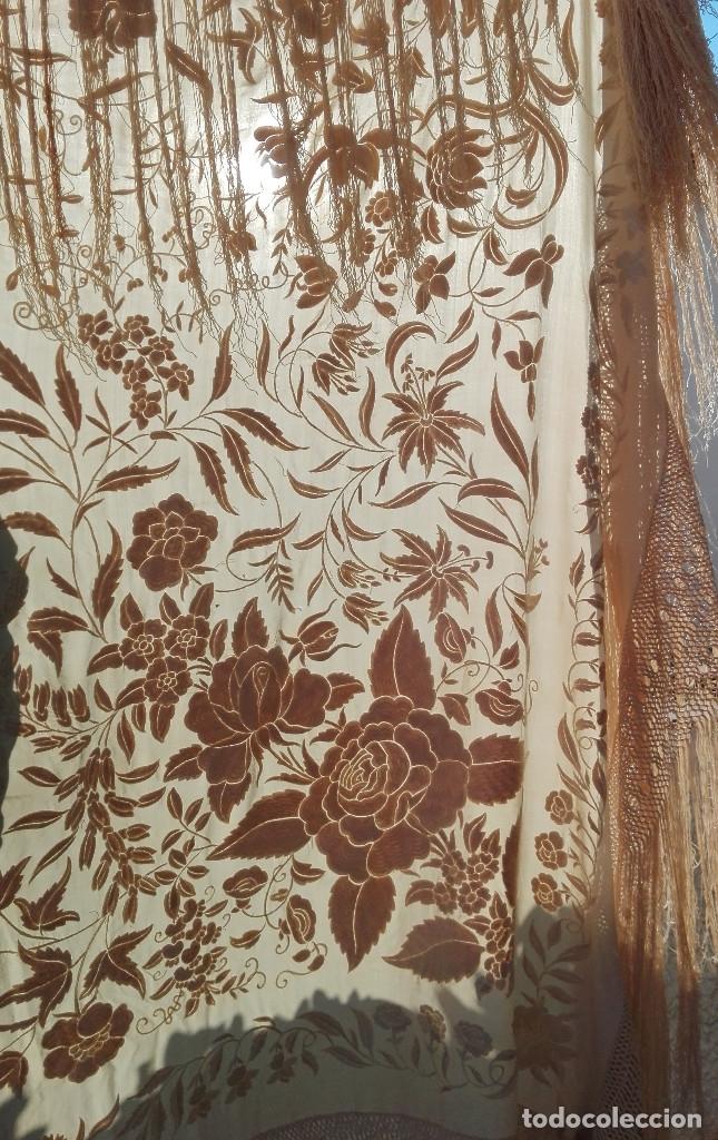 Antigüedades: MANTON ANTIGUO. OPORTUNIDAD - Foto 5 - 152006282