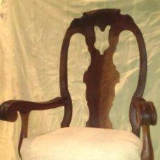 Antigüedades: SIILON DE MADERA DE NOGAL. Lote 165970126
