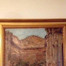 Antigüedades: PINTURA AL ÓLEO. Lote 165977494