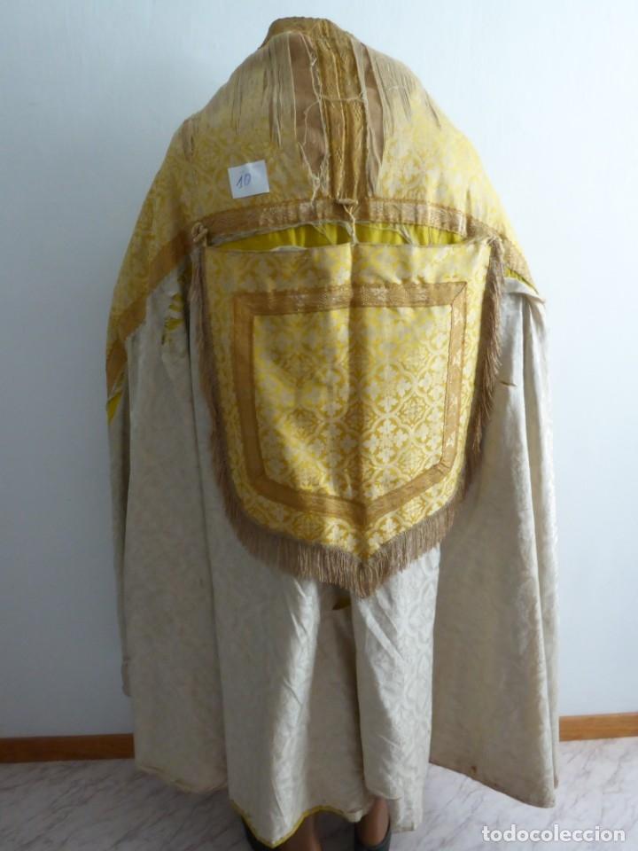 Antigüedades: CASULLAS Y VESTIMENTAS RELIGIOSAS ANTIGUAS - Foto 22 - 160200426