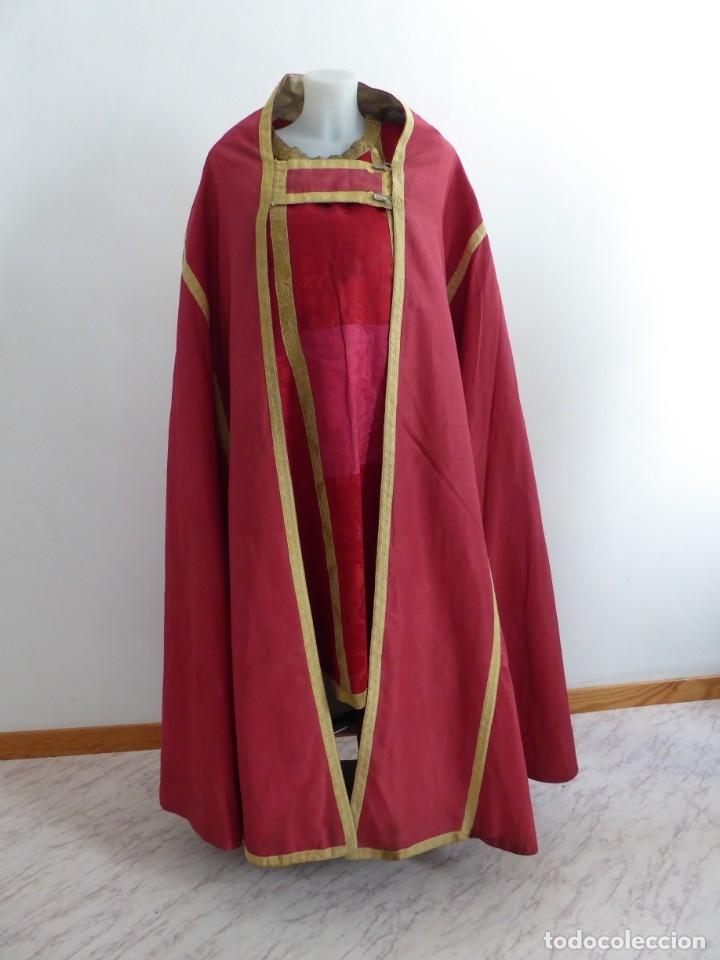 Antigüedades: CASULLAS Y VESTIMENTAS RELIGIOSAS ANTIGUAS - Foto 27 - 160200426