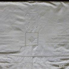 Antigüedades: FUNDA NÓRDICA REALIZADA CON DOS ANTIGUAS SÁBANAS DE ALGODÓN - MEDIADOS S. XX. Lote 166009734