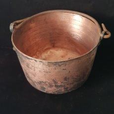Antigüedades: CALDERO DE COBRE. Lote 166068674