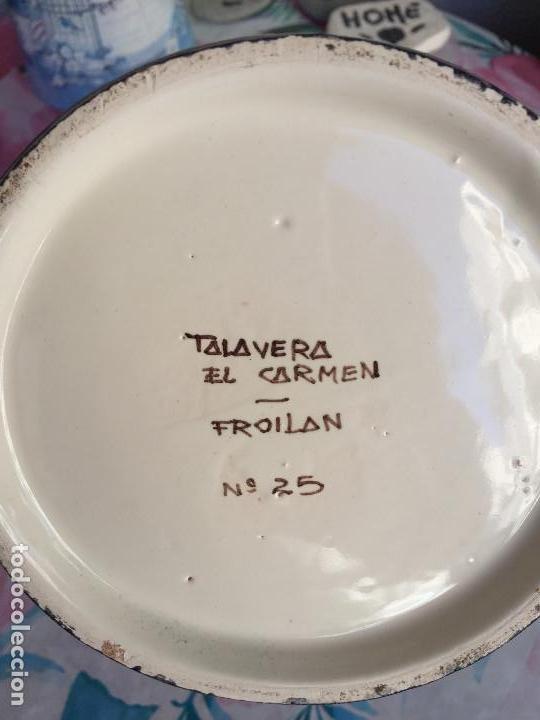 Antigüedades: ALBARELO BOTE DE FARMACIA DE TALAVERA ROMERO - Foto 4 - 166071630