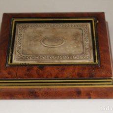Antigüedades: CAJA JOYERO EN PLATA DE LEY 925MILESIMAS. Lote 174207517