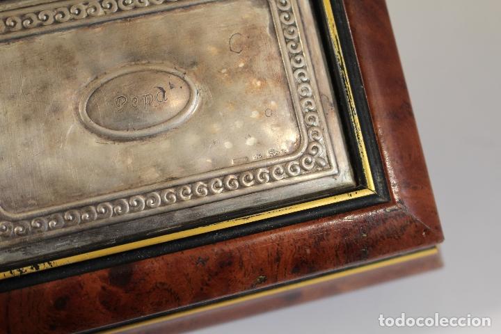 Antigüedades: caja joyero en plata de ley 925milesimas - Foto 4 - 174207517