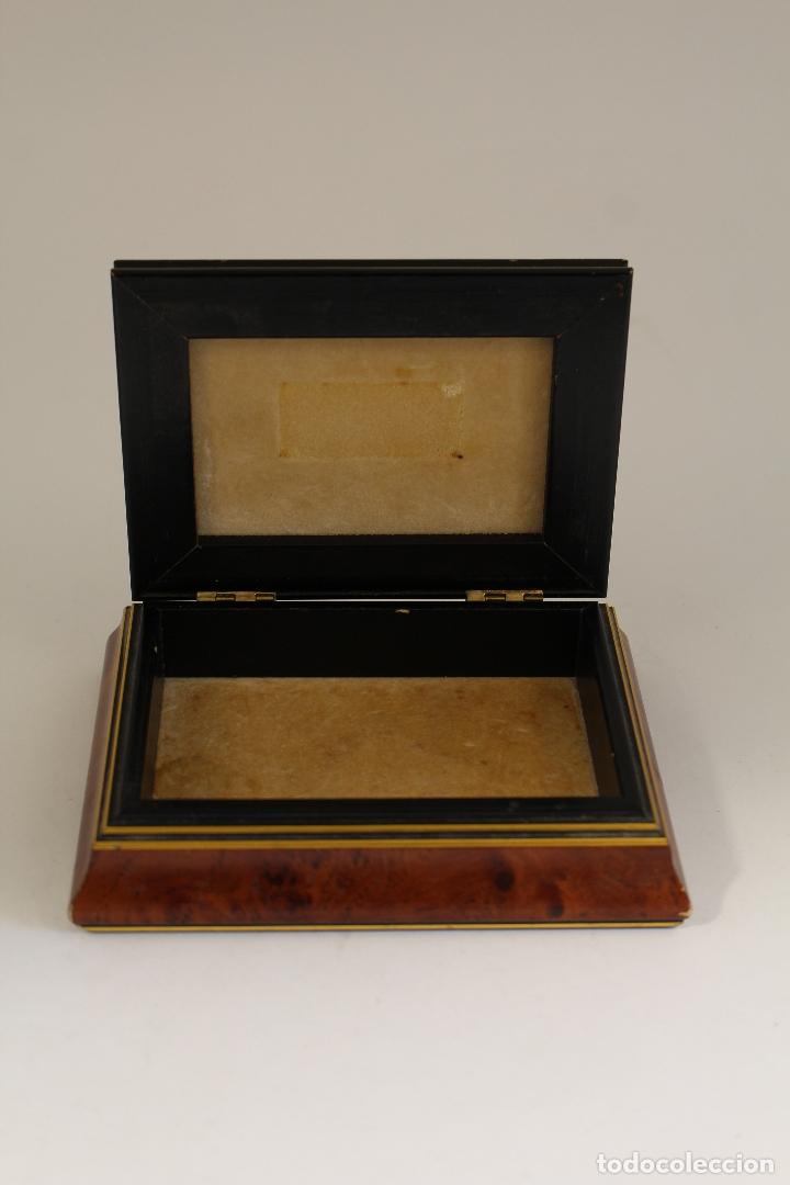 Antigüedades: caja joyero en plata de ley 925milesimas - Foto 8 - 174207517