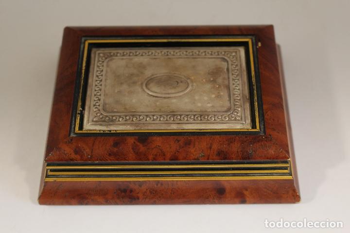 Antigüedades: caja joyero en plata de ley 925milesimas - Foto 9 - 174207517