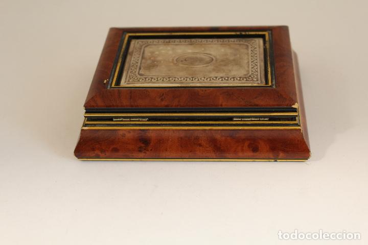 Antigüedades: caja joyero en plata de ley 925milesimas - Foto 10 - 174207517