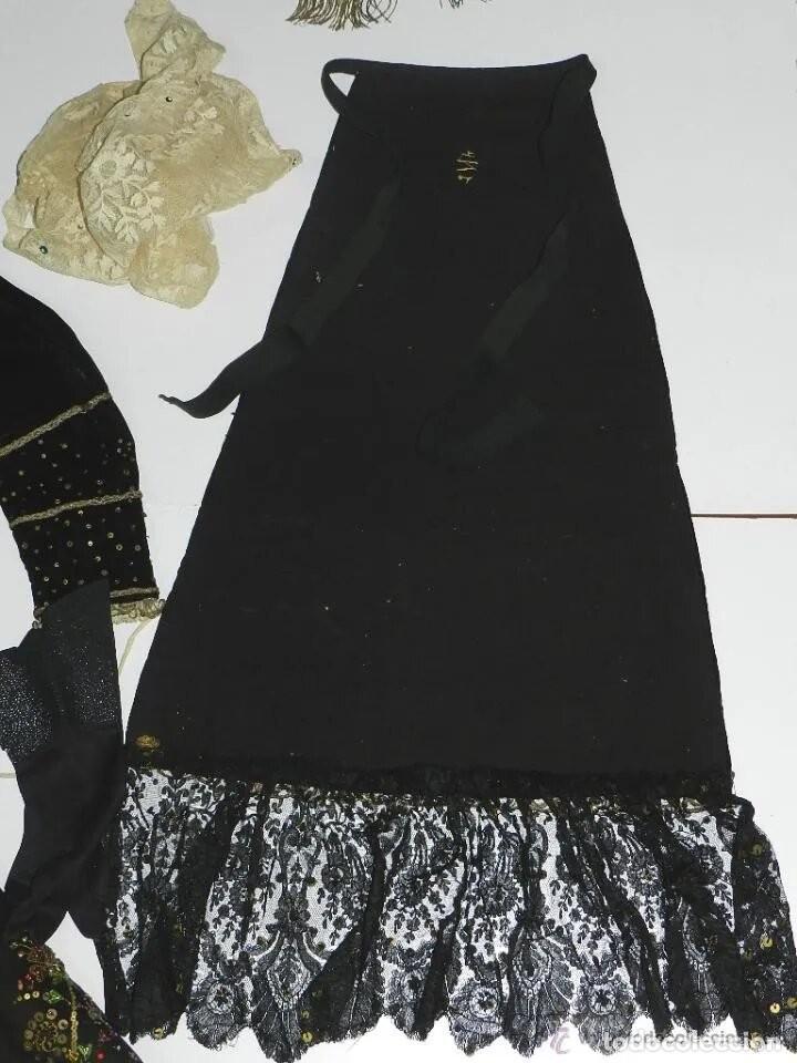 Antigüedades: EXCEPCIONAL TRAJE TRADICIONAL CHARRO SALMANTINO, SALAMANCA, SIGLO XIX, AUTENTICA PIEZA DE MUSEO, LE - Foto 16 - 166086094