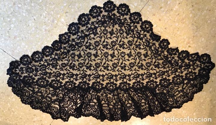 Antigüedades: MANTILLA DE TERMO S. XIX - Foto 2 - 166104010