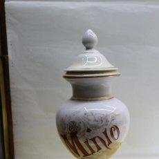 Antigüedades: ALBARELO - BOTE DE FARMACIA S. XIX. Lote 166115222