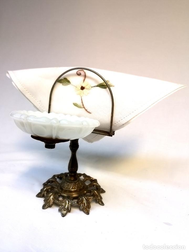 Antigüedades: Jabonera de bronce - Foto 2 - 166120142