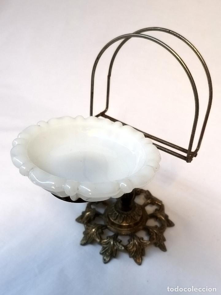Antigüedades: Jabonera de bronce - Foto 4 - 166120142