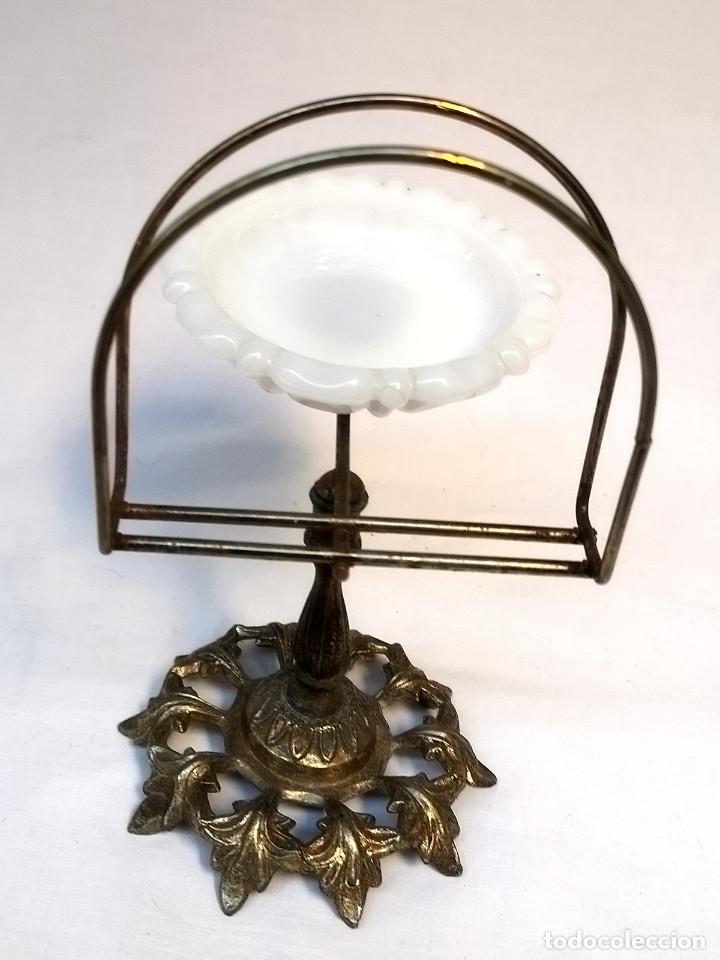 Antigüedades: Jabonera de bronce - Foto 6 - 166120142