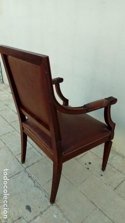 Antigüedades: sillon de despacho- - Foto 4 - 166118246