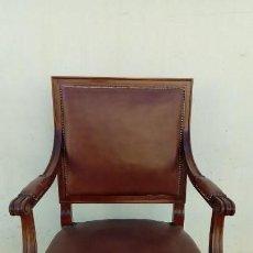 Antigüedades: SILLON DE DESPACHO-. Lote 166118246