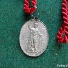 Antigüedades: MEDALLA ANTIGUA CON CORDON ESCLAVAS CONCEPCIONISTAS DEL DIVINO CORAZON DE JESUS. Lote 166123902