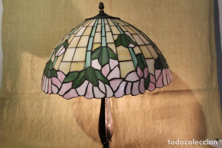 Antigüedades: lampara de pie - Foto 2 - 166138778