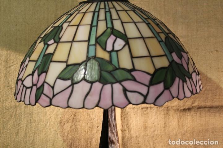 Antigüedades: lampara de pie - Foto 11 - 166138778
