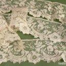 Antigüedades: ENCAJE DE BRUSELAS PUNTO DE AGUJA. Lote 166176842