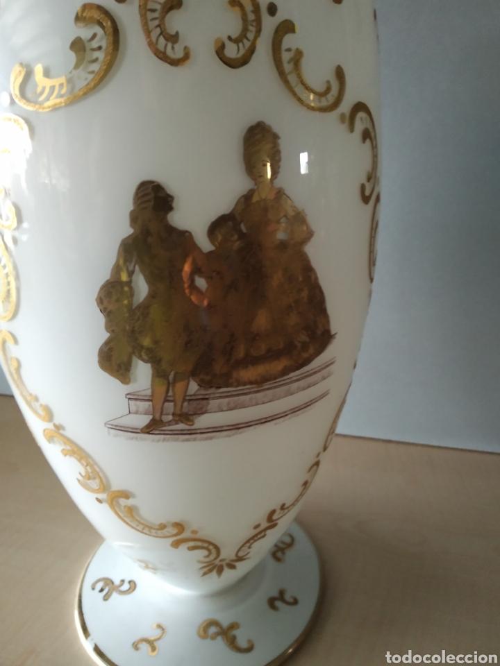 JARRON DE OPALINA (Antigüedades - Porcelanas y Cerámicas - Otras)